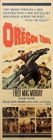 Oregon Trail, 1959, Fred MacMurray, Original Insert, (14x36)