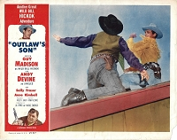 Outlaw's Son, Original Lobby Card, 1954, 11x14