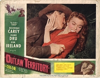 Outlaw Territory, Lot of 2 Lobby Cards, 1954, 11x14
