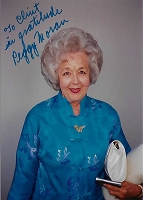 Peggy Moran 1918-2002, Actress , Candid Autographed Photo (4x6)