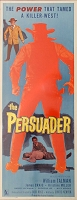 Persuader, 1957, William Talman, Original Insert, (14x36)