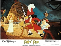 Peter Pan, Re-Release British Lobby Card Set, (8x10)