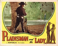 Plainsmen and the Lady, Lobby Card, 1946,  11x14