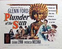 Plunder of the Sun, 1953, Glenn Ford, Original Half Sheet, (22x28)