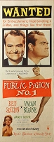 Public Pidgeon No. 1, 1956, Red Skelton, Original Insert, (14x36)
