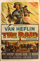 The Raid, 1954, Van Heflin, Original 1 Sheet (27x41)