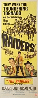 Raiders, 1964, Robert Culp, Original Insert, (14x36)