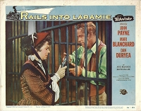 Rails into Larimie, Lobby Card , 1954, 11x14