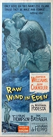 Raw Wind in Eden, 1958, Jeff Chandler, Original Insert, (14x36)