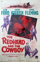 Redhead and the Cowboy, 1951,Glenn Ford, Original 1 Sheet (27x41)