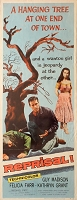 Reprisal, 1956, Guy Madison, Original Insert, (14x36)