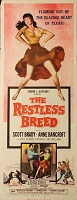 Restless Breed, 1957, Scott Brady, Original Insert, (14x36)