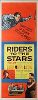 Riders to the Stars, 1954, William Lundigan , Original Insert, (14x36)