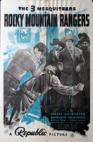 Rocky Mountain Rangers, 1940, Robert Livingston, 1 Sheet (27x41)