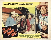 Rough, Tough, West, Lobby Card , 1952, 11x14