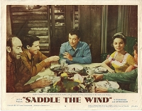 Saddle the Wind, Lobby Card , 1957, 11x14