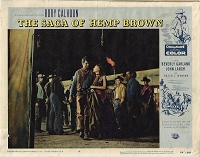Saga of Hemp Brown, Original Lobby Card , 1958, 11x14