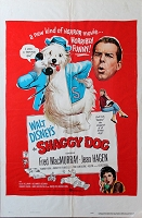 Shaggy Dog, 1959, Disney , Fred MacMurray Original 1 Sheet (27x41)