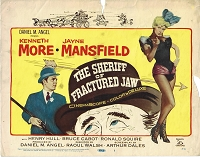 Sheriff of Fractured Jaw, Title Card , 1959, 11x14