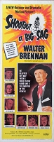 Shootout at Big Sag, 1962, Walter Brennan, Original Insert, (14x36)