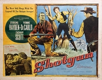 Shotgun, 1955, Sterling Hayden, Original Half Sheet, Style A (22x28)