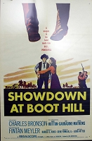 Showdown at Boot Hill, 1958, 1 Sheet (27x41