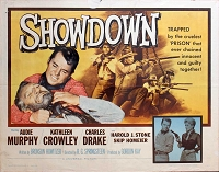 Showdown, 1963, Audie Murphy, Original Half Sheet, (22x28)