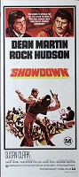 Showdown, 1973 Dean Martin, Original Australian Daybill (13x30)