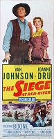 Siege at Red River, 1954, Van Johnson, Original Insert, (14x36)