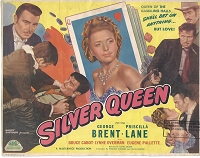 Silver Queen, Title Card, 1942,  11x14