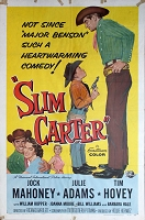 Slim Carter, 1957, Jock Mahoney, Original 1 Sheet (27x41)