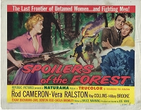 Spoilers of the Forest, Title Card , 1957, 11x14