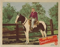 Springtime in Texas,  Lobby Card, 1945, 11x14