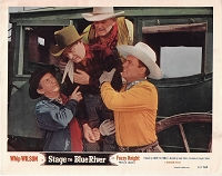 Stage to Blue River, Original Lobby Card , 1951, 11x14