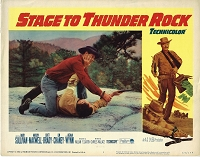 Stage to Thunder Rock, Lobby Card , 1964, 11x14
