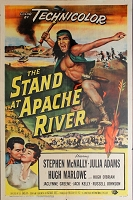 Stand at Apache River, 1953, Stephen McNally, Original 1 Sheet (27x41)