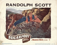 Sugarfoot, Original Lobby Card , 1951, 11x14
