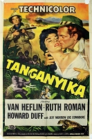 Tanganyika,  (1954), Original One Sheet (27x41