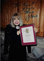 Terry Moore,  Candid Autographed Photo (4x6)
