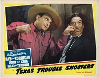 Texas Trouble Shooters, Lobby Card, 1942, 11x14