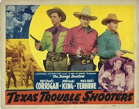 Texas Trouble Shooters, Title Card, 1942, 11x14