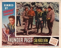 Thunder Pass, Lobby Card , 1954, 11x14
