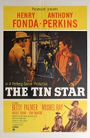 Tin Star, 1957, Henry Fonda, Original 1 Sheet (27x41)