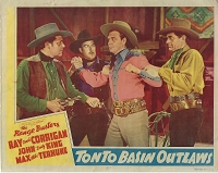 Tonto Basin Outlaws,  Lobby Card, 1941, 11x14