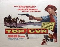 Top Gun, 1955, Sterling Hayden, Original Half Sheet, (22x28)