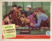Tornado in the Saddle, Lobby Card, 1942,  11x14