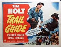 Trail Guide, 1952, Tim Holt, Original Half Sheet, Style B (22x28)