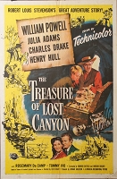 Treasure of Lost Canyon,  1952, William Powell, Original 1 Sheet (27x41)