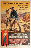 Treasure of Pancho Villa,  1955, Rory Calhoun, Original 1 Sheet (27x41)