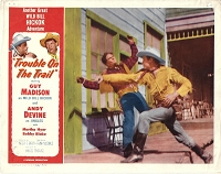 Trouble on the Trail, Lobby Card , 1954, 11x14